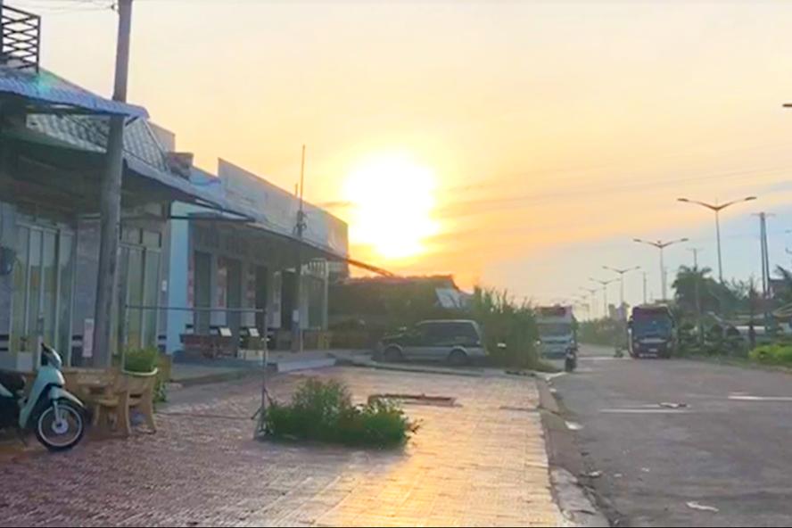 Một khu dân cư tự phát, phân lô bán nền tại huyện Đông Hải, Bạc Liêu (ảnh Nhật Hồ)