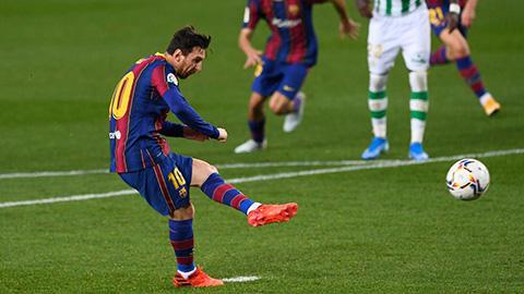 Messi và nỗi ám ảnh chôn vùi: 14 quả penalty chính thức liên tiếp thành công