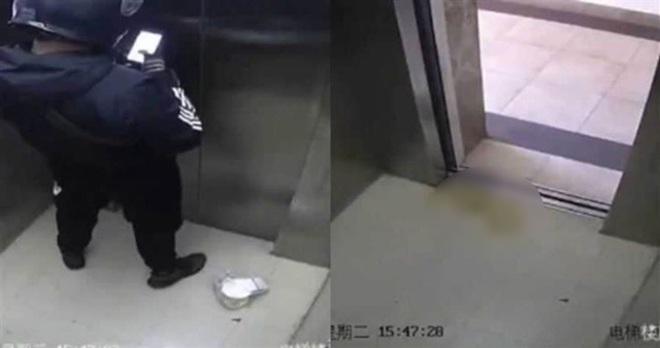 Shipper vạch quần đi vệ sinh ngay trong thang máy, hành động sau đó khiến MXH amp;#34;dậy sóngamp;#34; - 1
