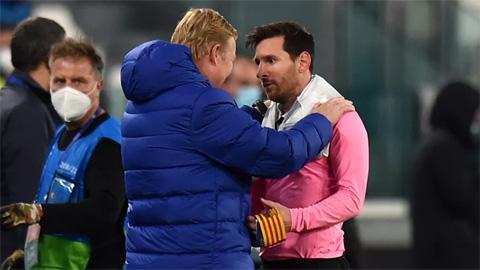Koeman nói gì khiến Messi quyết định ở lại Barca?
