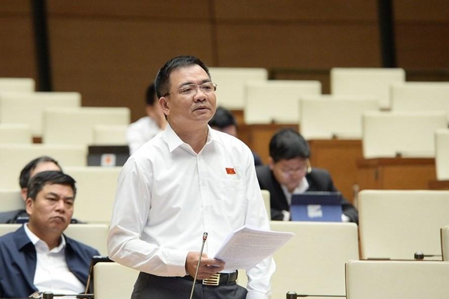 Đại biểu Nguyễn Minh Đức (Đoàn TP.HCM). Ảnh: Quốc hội.