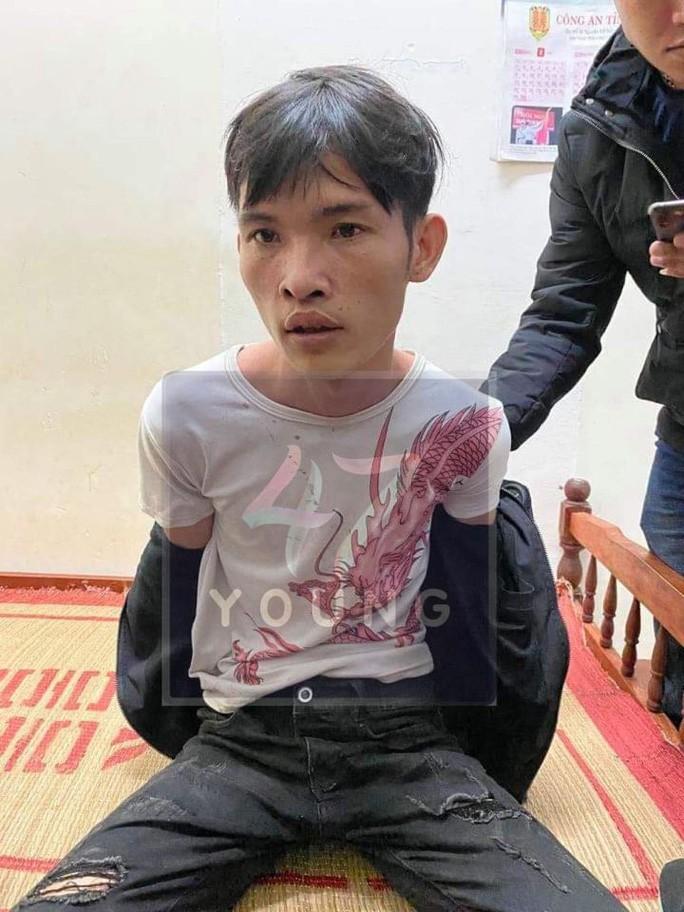 Lê Văn Thành - nghi phạm sát hại tài xế xe ôm. Ảnh Young 47.