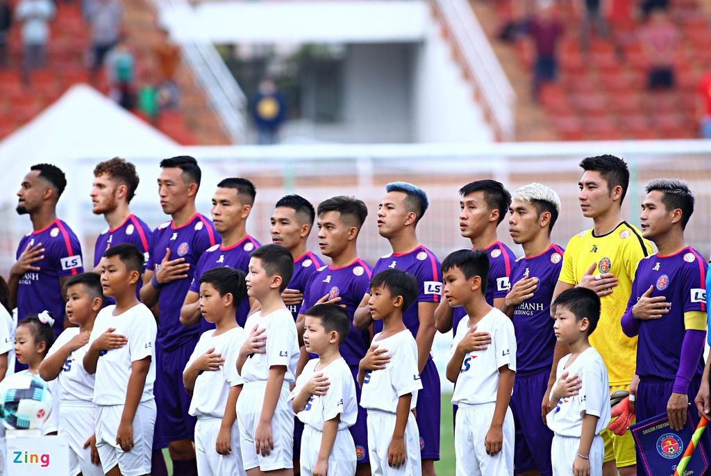 Hàng loạt cầu thủ CLB Sài Gòn chia tay đội bóng sau mùa giải V.League 2020. Ảnh: Quang Thịnh.