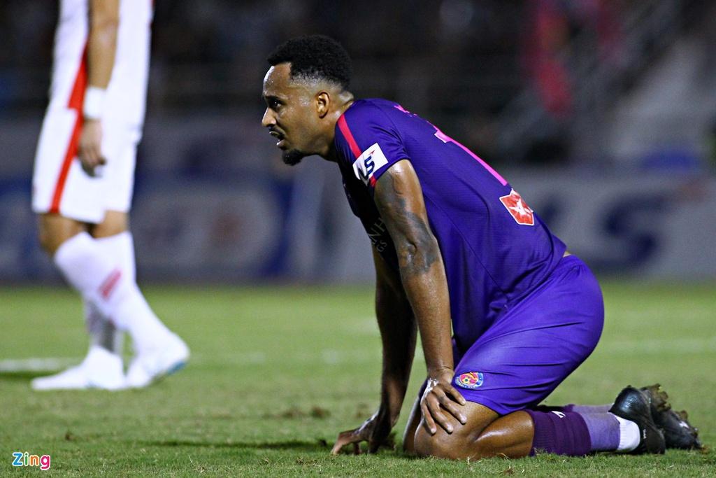 Cầu thủ ghi bàn tốt nhất V.League 2020, bên cạnh Rimario Gordon, chia tay CLB Sài Gòn. Ảnh: Quang Thịnh.
