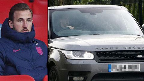 Harry Kane bị đánh cắp xe hơi trong nháy mắt