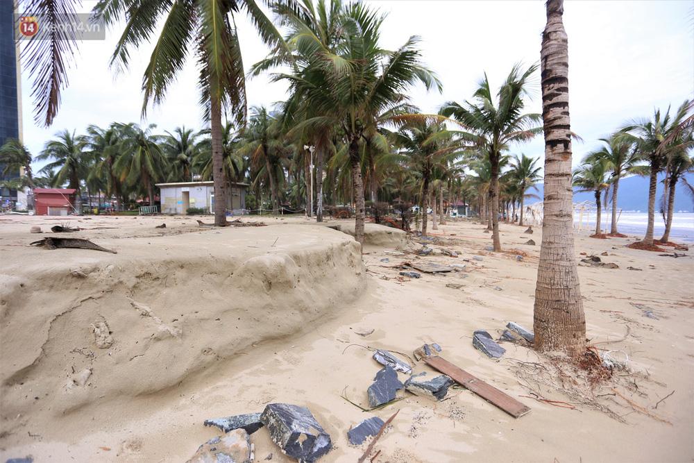 Ảnh: Cận cảnh bãi biển đẹp nhất hành tinh tan hoang, xơ xác sau bão số 13 - Ảnh 15.