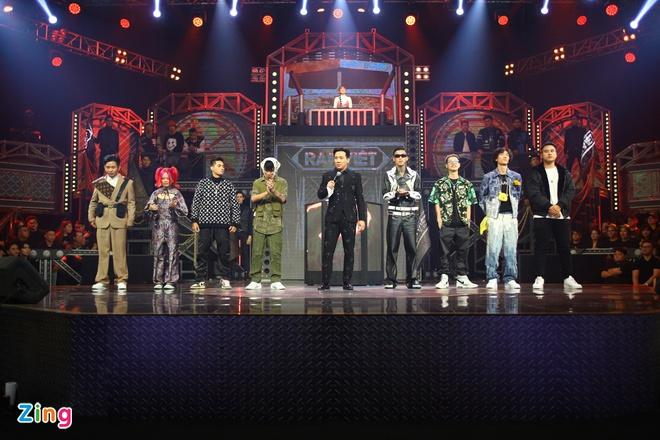 Chung kết Rap Việt diễn ra tối 14/11. Ảnh: Quỳnh Danh.
