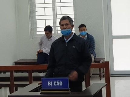 Bị cáo Phạm Văn Sơn tại phiên tòa phúc thẩm.