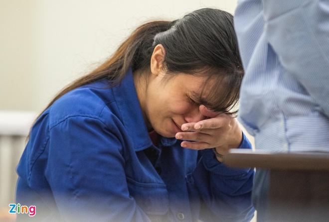 Nguyễn Thị Lan Anh thừa nhận sử dụng ma túy nhưng phủ nhận sát hại con gái. Ảnh: Hải Nam.