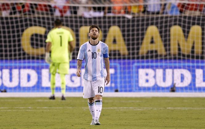 Messi đã đôi lần đòi giải nghệ ở ĐT Argentina