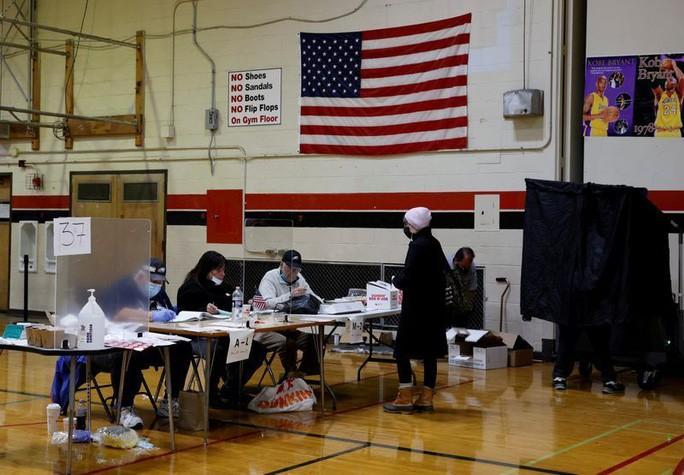 Bang Pennsylvania trong ngày bầu cử 3/11. Ảnh: Reuters.