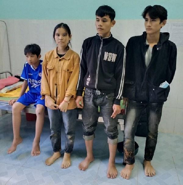 4 anh em nhà em Hồ Thị Điệp vượt qua sự mất mát, đau thương hiện đã quay lại trường học.