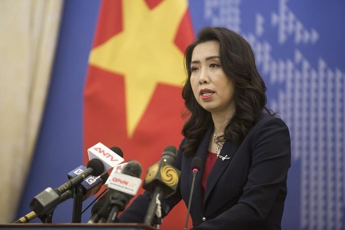 Người Phát ngôn Bộ Ngoại giao Lê Thị Thu Hằng khẳng định thời gian qua, quan hệ hợp tác hai nước Việt Nam - Campuchia phát triển tích cực.