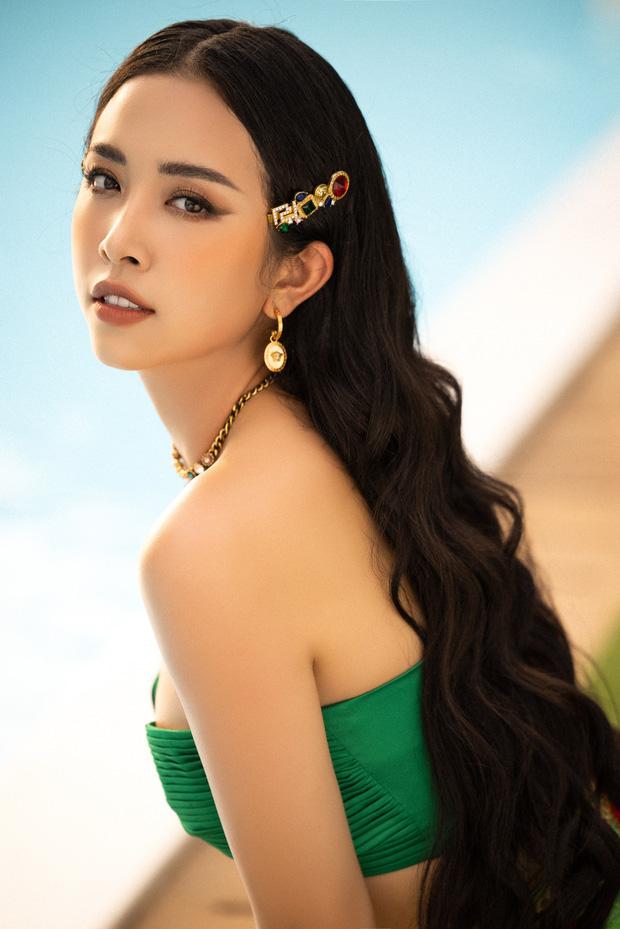 Sau đăng quang, Á hậu Thuý An cũng chứng minh nhan sắc thăng hạng rõ rệt.