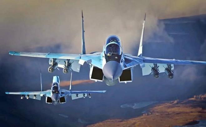 Tiêm kích MiG-35 Không quân Nga.