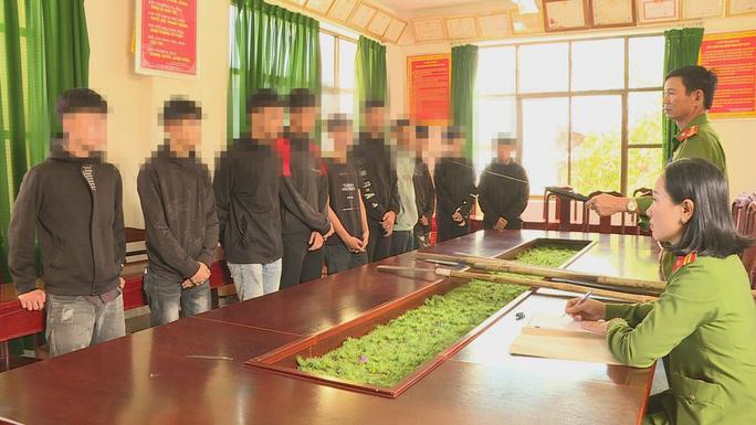 Cơ quan công an triệu tập các em học sinh, thiếu niên tham gia vụ hỗn chiến