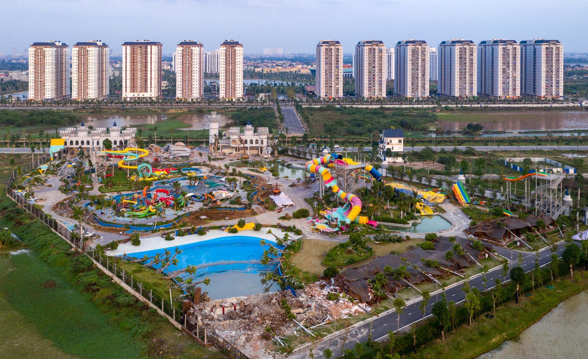 Sai phạm tại Công viên nước Thanh Hà khiến nhiều cán bộ quận Hà Đông bị xử lý. Ảnh: Việt Linh.