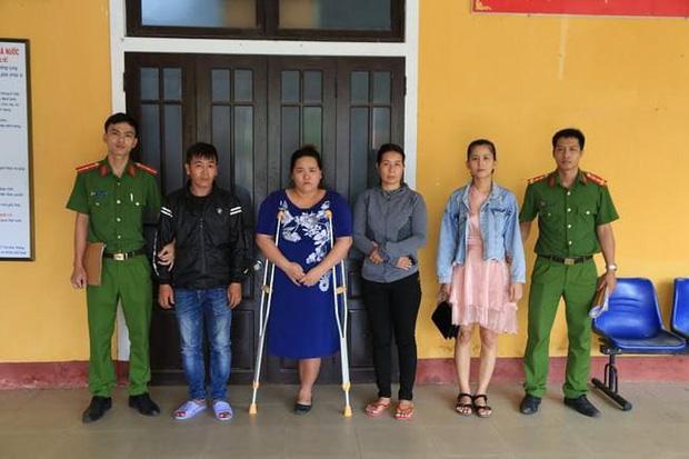4 bị can trong vụ đánh ghen kinh hoàng ở Huế.
