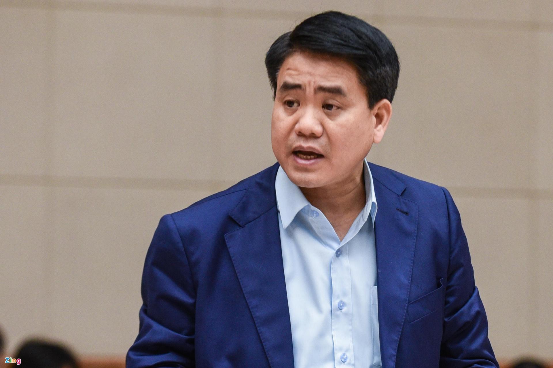 Ông Nguyễn Đức Chung. Ảnh: Hải Nam.