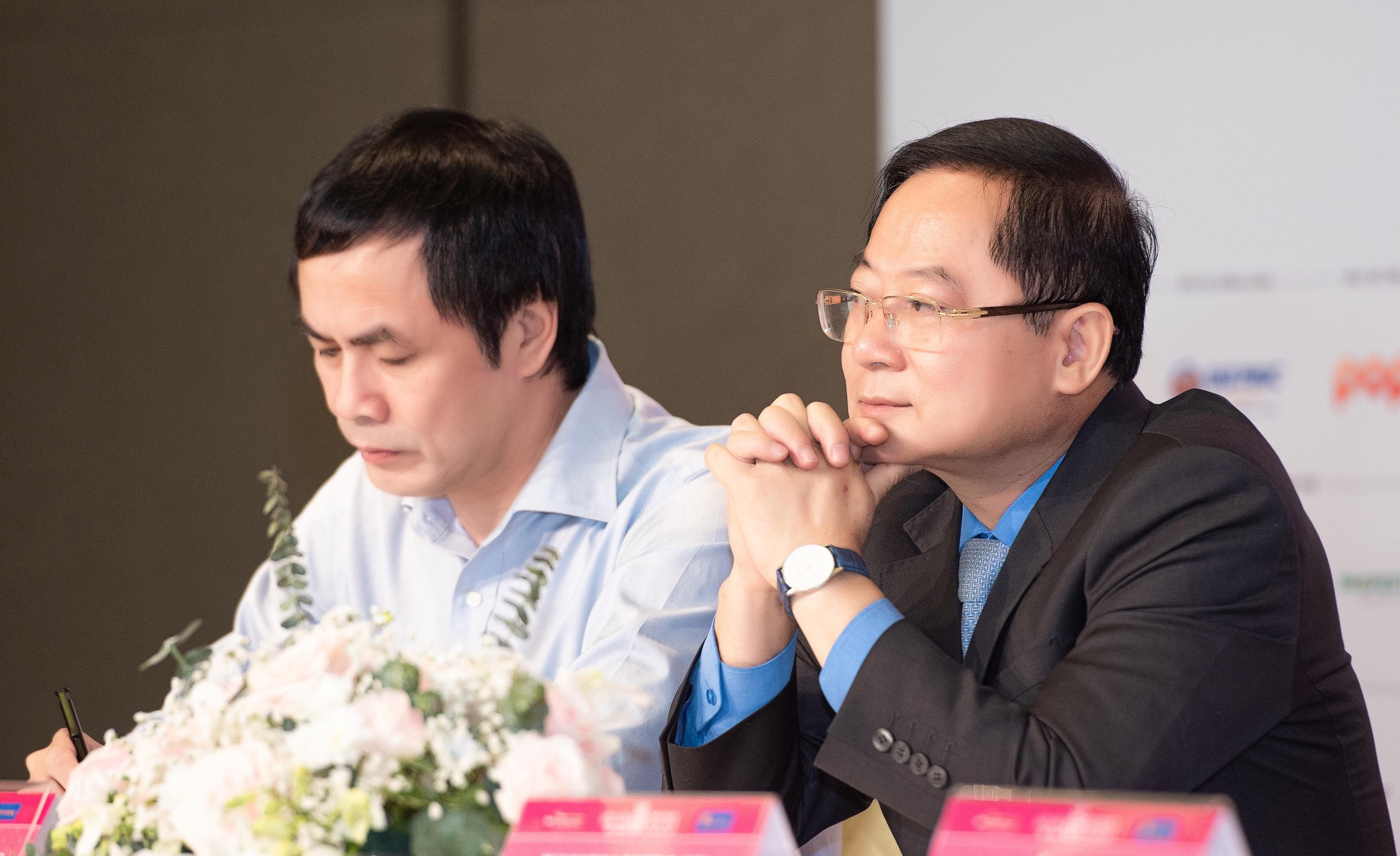 Ông Lê Xuân Sơn, trưởng ban tổ chức Hoa hậu Việt Nam 2020.