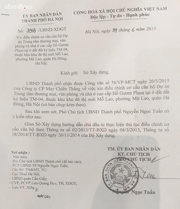 Văn bản từ UBND TP Hà Nội gửi Sở Xây dựng