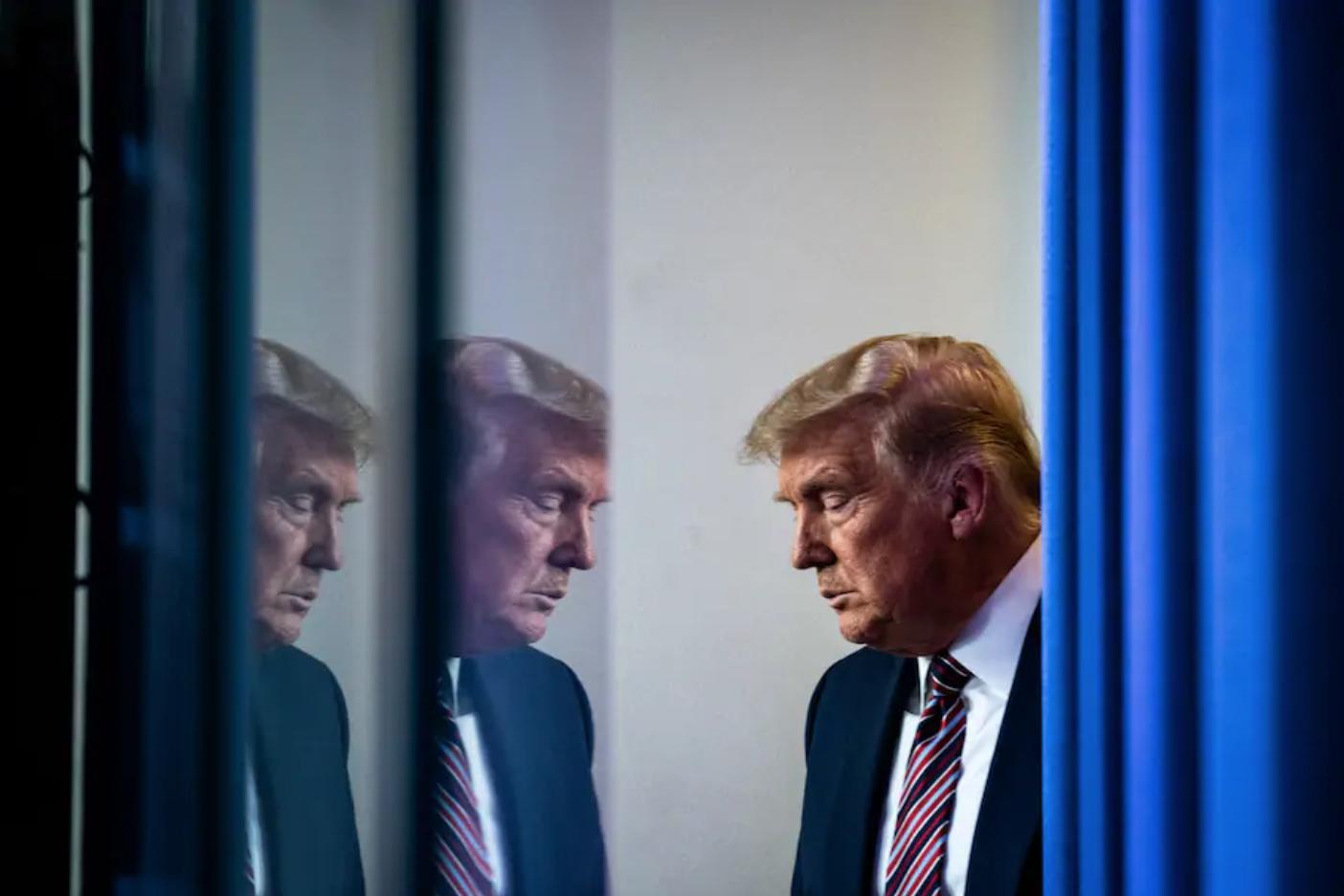 Tổng thống Trump tại Nhà Trắng hôm 21/11. Ảnh: Washington Post.
