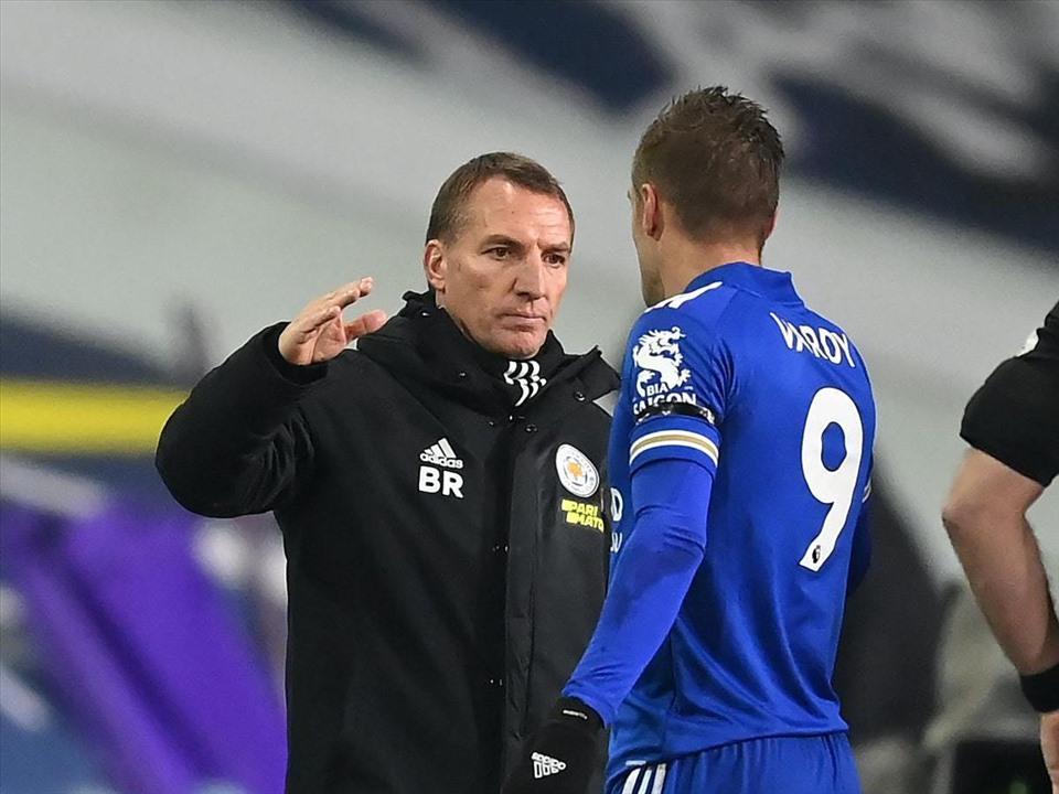 Rodgers và Vardy quyết chơi lớn mùa này. Ảnh: Premier League.