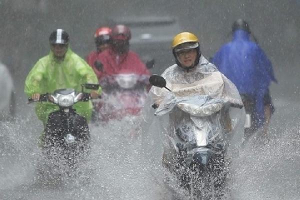 Không khí lạnh liên tục tăng cường gây mưa diện rộng, giảm nhiệt sâu