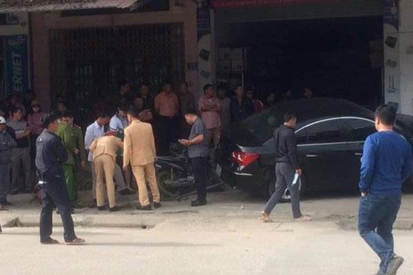 Tài xế ôtô tông 2 cha con tử vong ở Thái Nguyên không có bằng lái và đang bỏ trốn
