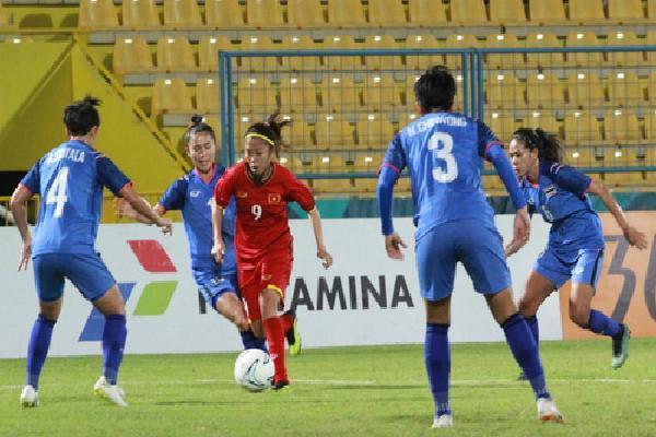 0 điểm, tuyển nữ Thái Lan vẫn vào tứ kết ở Asiad 2018