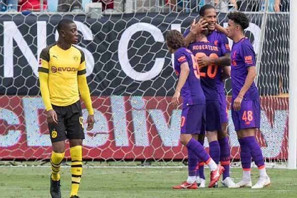 VIDEO Liverpool - Dortmund ICC Cup 2018: Ngược dòng hiệp 2, người hùng cú đúp