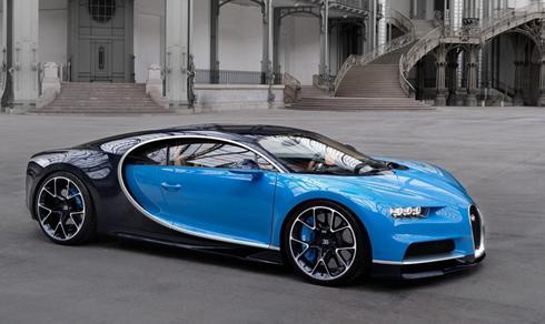 Siêu xe Bugatti Chiron sử dụng động cơ công suất 1.479 mã lực.