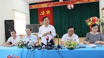 Khởi tố vụ án gian lận thi cử tại Sơn La