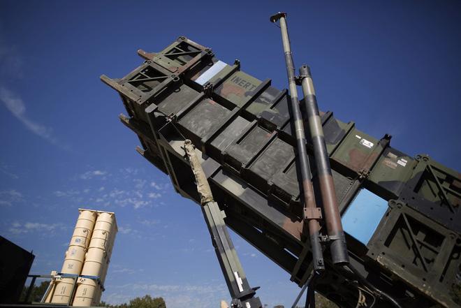 Hệ thống phòng thủ tên lửa Patriot của Israel
