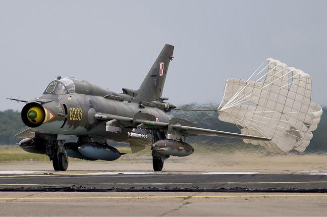 Một chiếc Su-22 của không quân Ba Lan