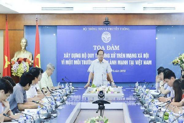 Việt Nam cần Bộ quy tắc ứng xử trên mạng xã hội như thế nào?