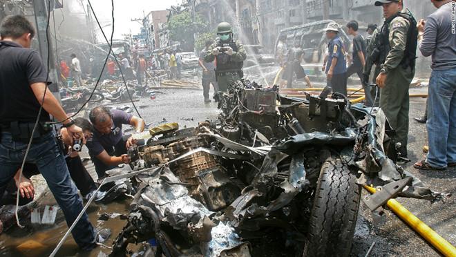 Đánh bom liên tiếp tại miền Nam Thái Lan, ít nhất 3 người bị thương