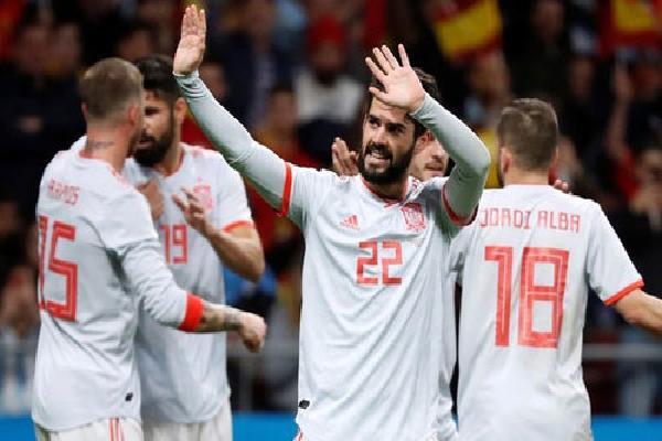 Tây Ban Nha vắng dàn sao Real trong quá trình chuẩn bị World Cup