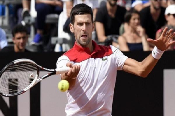 Djokovic thắng trắng ở vòng hai Rome Masters