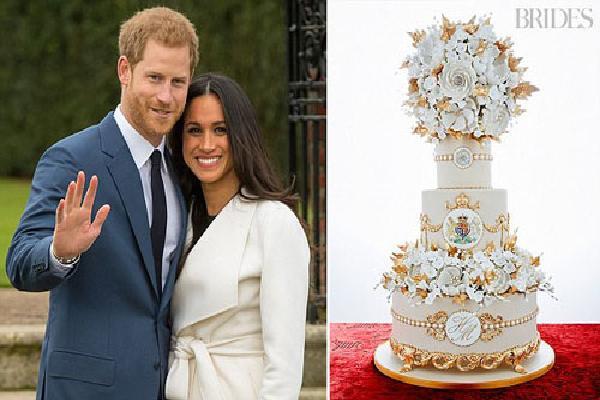 Bật mí về chiếc bánh cưới trong hôn lễ của Hoàng tử Anh Harry