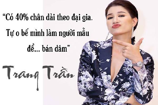 Loạt phát ngôn 'xóc óc' của Trang Trần khiến cả showbiz cứ nghe là... nhảy dựng