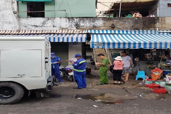 Phát hiện cụ bà chết bất thường trong căn nhà ở quận Bình Thạnh