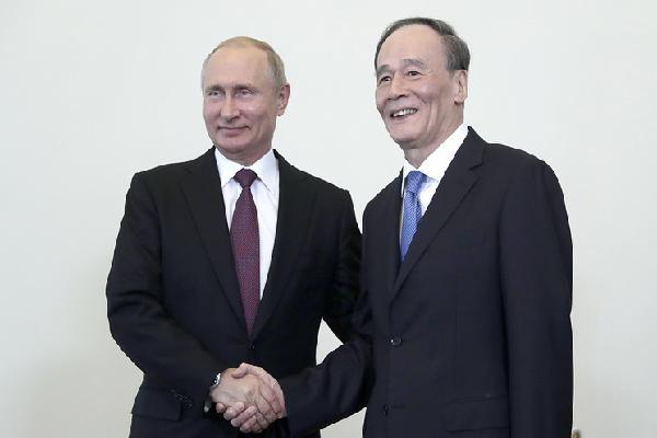 Trung Quốc, Nga nhất trí tăng cường quan hệ vì lợi ích hai nước