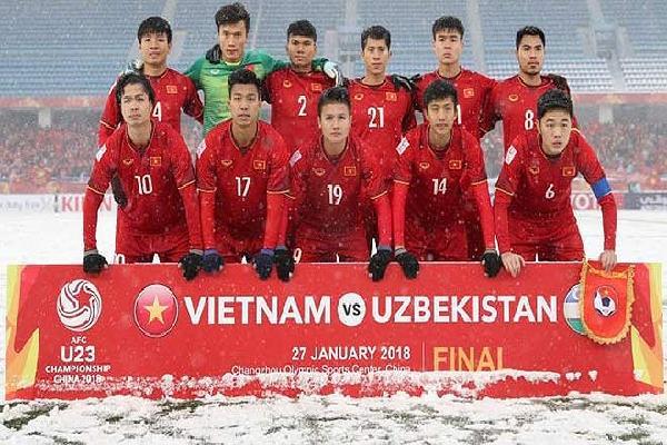 U23 Việt Nam sắp giao đấu U23 Barcelona tại Mỹ Đình