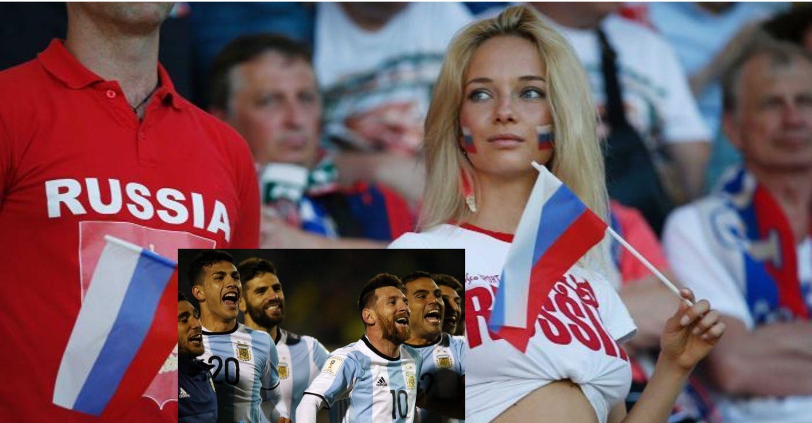 CĐV ngỡ ngàng vì LĐBĐ Argentina in 'cẩm nang... tán gái Nga' cho Messi và đồng đội