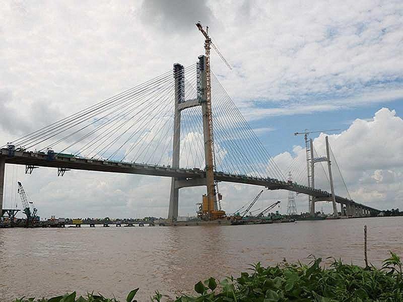 Cầu Cao Lãnh sẽ chính thức khánh thành ngày 27/5