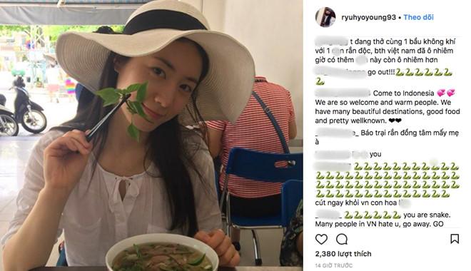 Nữ ca sĩ Hàn Quốc bị fan Việt chửi bới khi đến Đà Nẵng