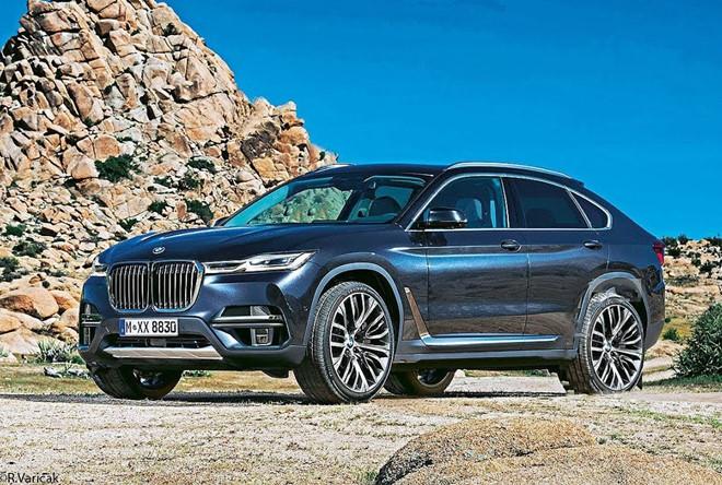 Đối thủ của Audi Q8 - BMW X8 ra mắt vào năm 2020