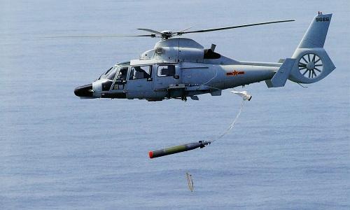 Một trực thăng chống ngầm Z-9C của Trung Quốc. Ảnh: Chinese Military Review.