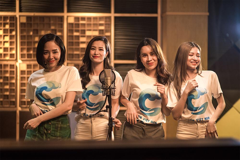 Cả team nghệ sĩ tham gia hoà giọng Do it together - Bắt đầu ngay từ bây giờ